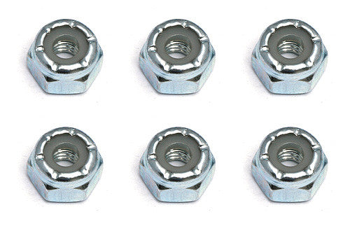TEAM ASSOCIATED Locknuts, 8-32, steel - 6952