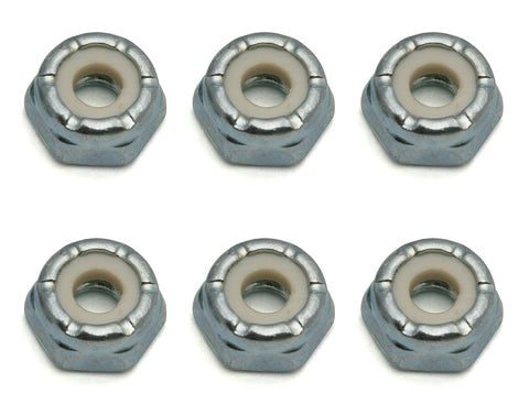 TEAM ASSOCIATED Locknuts, 8-32, Low Profile, steel - 6953 - ActivRC