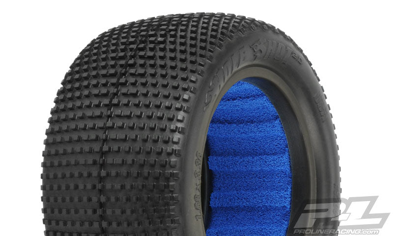 "PRO-LINE Hole Shot 2.0 2.2"" X2 (Medium) Off-Road Buggy Rear Tires - 8206-002"