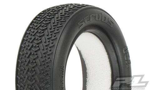 "PRO-LINE Scrubs 2.2"" 2WD X2 (Medium) Off-Road Buggy Front Tires - 8212-002 - ActivRC - 1"
