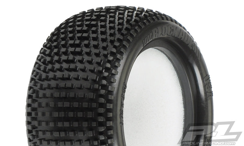 "PRO-LINE Blockade 2.2"" M3 (Soft) Off-Road Buggy Rear Tires - 8231-02"