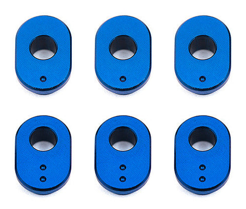 TEAM ASSOCIATED RC10F6 Caster Bushings, aluminum - 8659