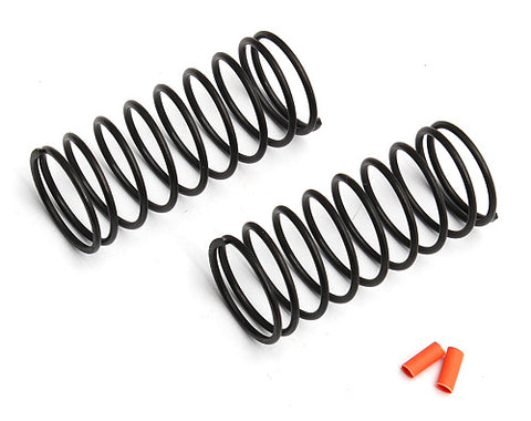TEAM ASSOCIATED FT 12mm Front Springs, Orange, 4.05lb - 91333