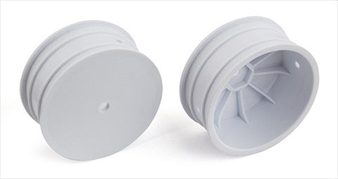 "TEAM ASSOCIATED 12mm Hex 4WD 2.2"" Front Buggy Wheels B64 White - 92095"