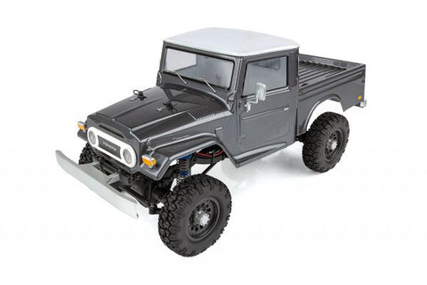 TEAM ASSOCIATED CR12 Toyota FJ45 Pick-Up RTR Gray - 40004