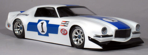 McALLISTER 1970 Camaro VTA Clear Body 200mm - 304