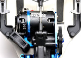 EXOTEK Fan Mount - Clamp On Set (Blue) , 1/10 buggies, trucks and sedans - 1718BLU