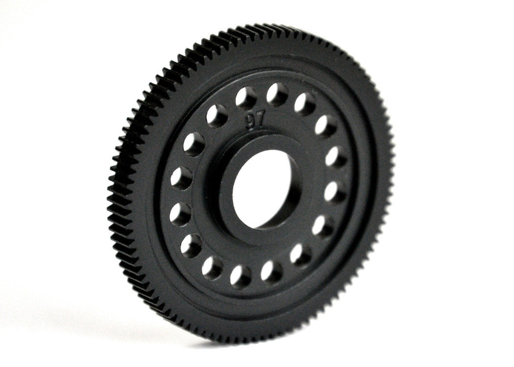 EXOTEK F1 MACHINED ULTRA SPUR GEAR- POM, 97T 64 PITCH - 1388 - ActivRC - 1