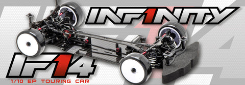 INFINITY IF14 1/10 Scale EP Touring Car Chassis Kit 2018 V3 - CM-00002 (PRE-ORDER)