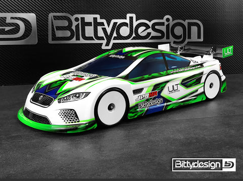 BITTYDESIGN JP8HR ULT 1/10 Touring Car Body (Clear) (190mm) (Ultra Light Weight) - BDTC-HRULT