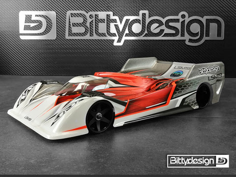 BITTYDESIGN LSM19 1/12 Pan Car Body (Clear) (Light Weight) - BD12-LSM19