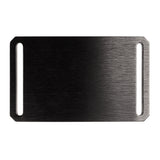 GRIP6 Classic Series Belt - Black Aluminum Buckle with Grey Strap
