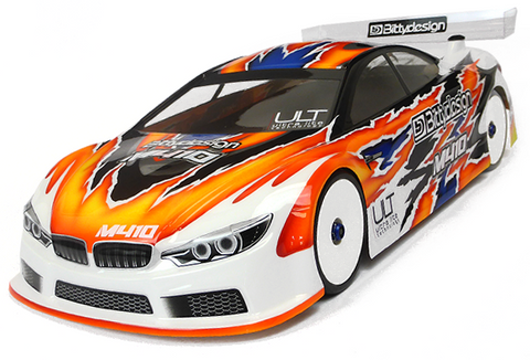 BITTYDESIGN M410 ULT 1/10 Touring Car Body (Clear) (190mm) (Ultra Light Weight) - BDYTC-M410ULT