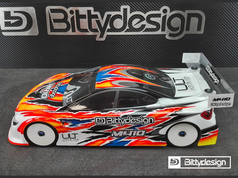 BITTYDESIGN M410 ULT 110 Touring Car Body Clear 190mm