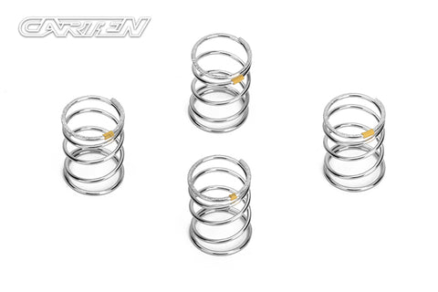 CARTEN M210 Shock Spring (1.2X22mm) Yellow Medium - NBA226
