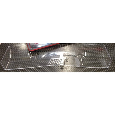 MON-TECH 190mm Touring Car Racer Wing, Hard, 1mm - MB-018-002H