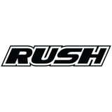 RUSH VF1 RARSS F1 Rear Rubber Slick Tires Asphalt Revolution Soft Premount 2 pcs (White) - RU-0474