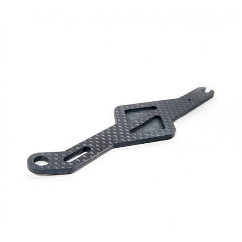 SCHELLE RACING B64 Carbon Battery Strap - SCH1350