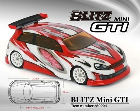 BLITZ Mini GTI 225mm (0.5mm) - 60904-05