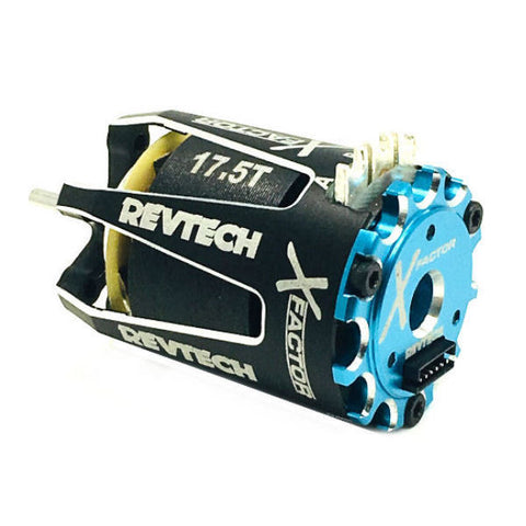 TRINITY X-Factor 17.5T TEAM Spec Class Brushless Motor - REV1102T