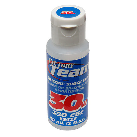 TEAM ASSOCIATED 30 WT SILICONE SHOCK OIL 2 OZ - 350 CST - 5422 - ActivRC