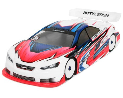 "Bittydesign ""Nardò"" EFRA Spec 1/10 Touring Car Body (Clear) (190mm) - BDTC-190NRD - ActivRC - 1"