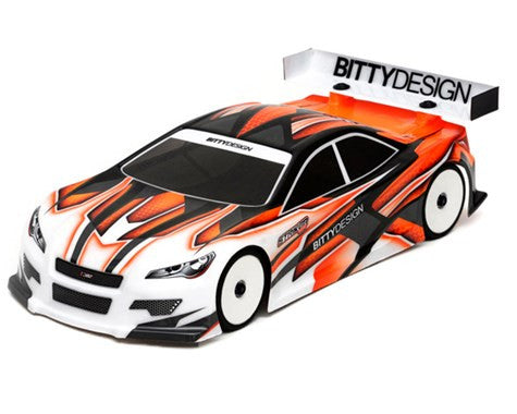 "Bittydesign ""Striker-SR 3.0"" EFRA Spec 1/10 Touring Car Body (Clear) (190mm) - BDYTC-190SRK3.0 - ActivRC - 1"