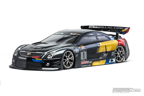 PROTOFORM Cadillac ATS-V.R Clear Body 190mm - 1543-30 - ActivRC - 1