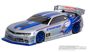 PROTOFORM Chevy Camaro Z/28 Clear Body 190mm - 1544-30 - ActivRC - 1