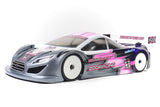 ZOORACING Dogsbollox 1/10 Touring Car Body Clear 190mm Ultralight 0.5mm - ZR-0005-05