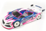 ZOORACING Hellcat 1/10 Touring Car Body Clear 190mm Ultralight - ZR-0006-05