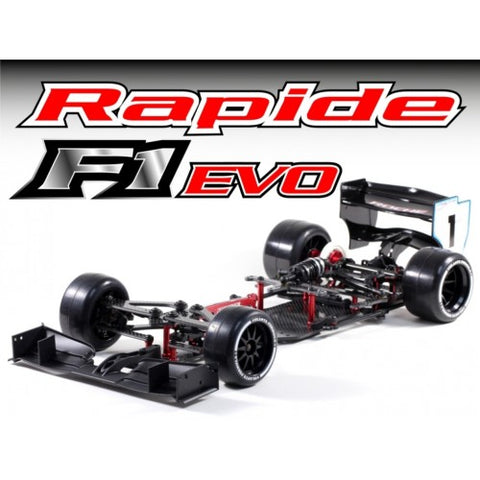 ROCHE Rapide F1 Evo 1/10 Competition F1 Car Kit - 152007 - PRE-ORDER NOW!