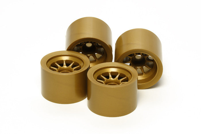 TAMIYA RC F104 Wheel Set Gold - 54525 - ActivRC