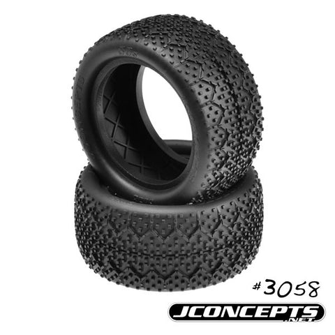 "JCONCEPTS 3Ds 2.2"" Rear Buggy Tires (2) (Green) - JCO3058-02"