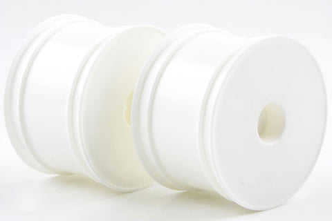KYOSHO 12mm Hex Rear Buggy Hex Wheels 56mm Flush RB6/ZX6 White - W5202W