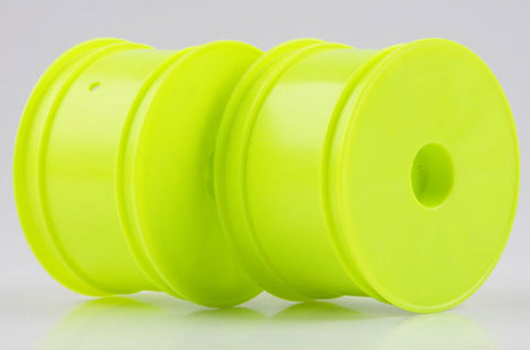 KYOSHO 12mm Hex Rear Buggy Wheels 56mm Flush RB6/ZX6 Yellow - W5202Y