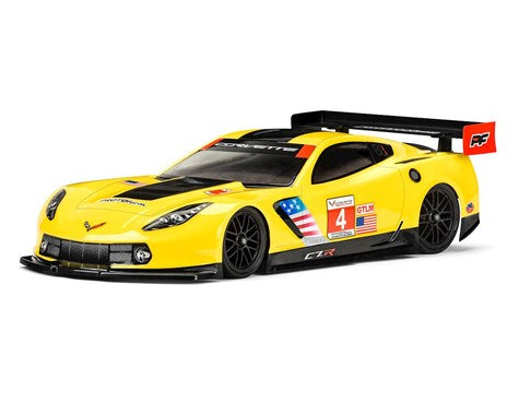 PROTOFORM Chevrolet® Corvette™ C7.R Clear Body 190mm - 1557-30