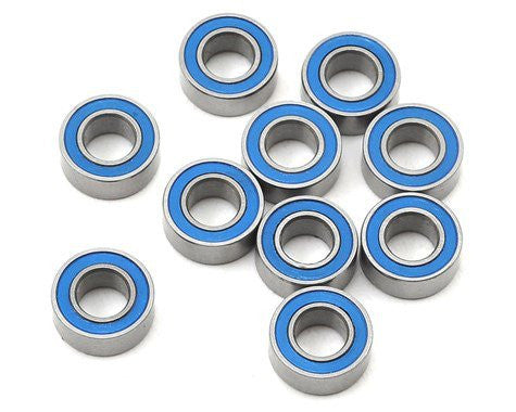 "PROTEK RC 5x10x4mm Rubber Sealed ""Speed"" Bearing (10) - PTK-10040"