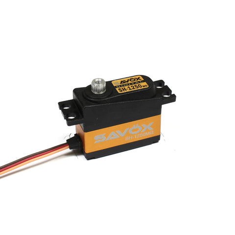SAVOX Mini Size Metal Gear Digital Servo .11/63.9 @ 6.0V - SH1250MG