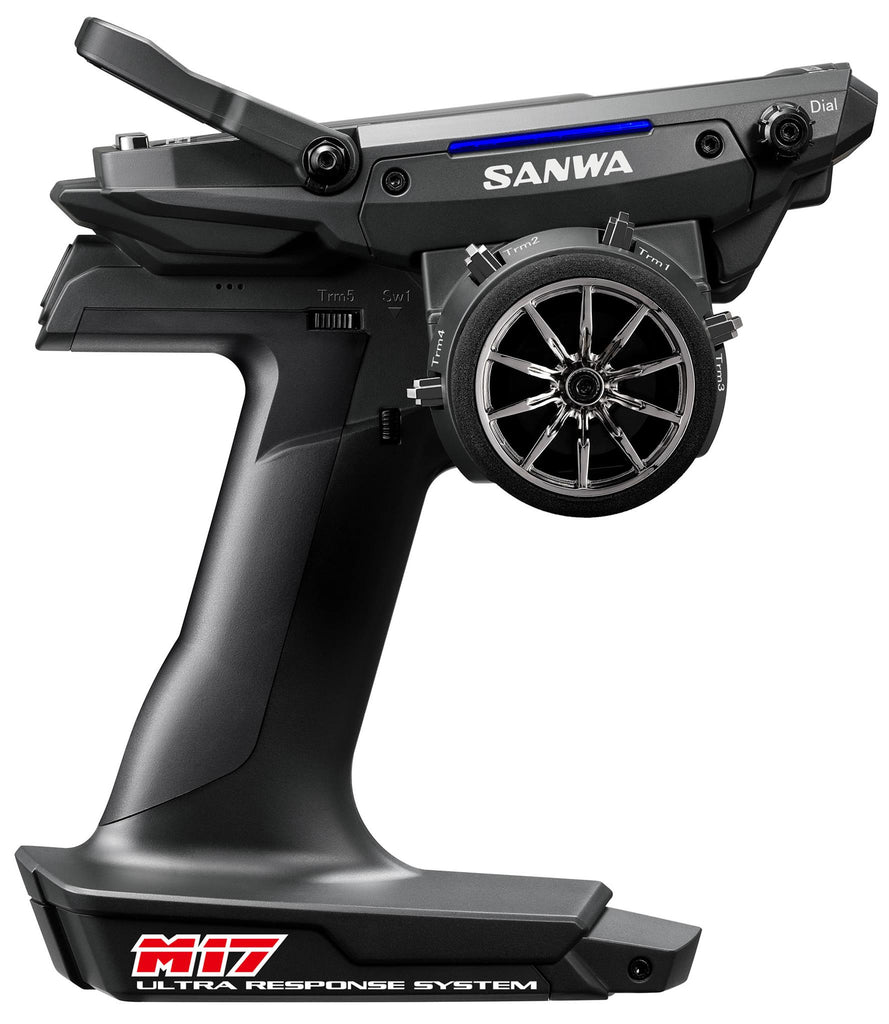 SANWA M17 FH5 4-Channel 2.4GHz Radio System w/RX-491 Receiver - SNW101A32461A (PRE-ORDER NOW!)