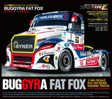 TAMIYA RC Buggyra Fat Fox On-Road Racing Truck Kit - TT-01 Type E - 58661