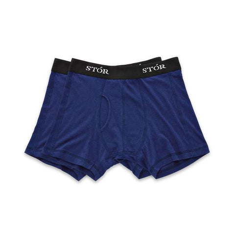 Twin Pack Organic Cotton & Bamboo Boxer Brief