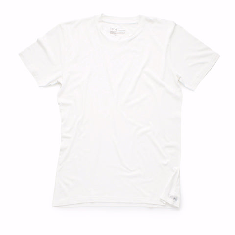 White Sustainable Crew T-Shirt