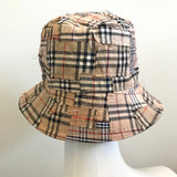 Repurposed Authentic BURBERRY Custom Patchwork Bucket Hat