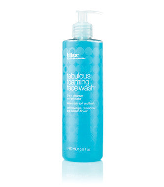 Bliss Fabulous Foaming Wash