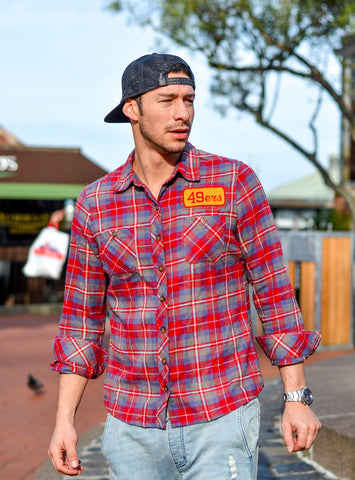 49ers Hipster Flannel