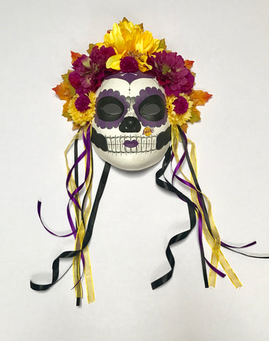 El Santo Mask in Purple