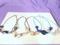 Pressed / Lampworked Necklace