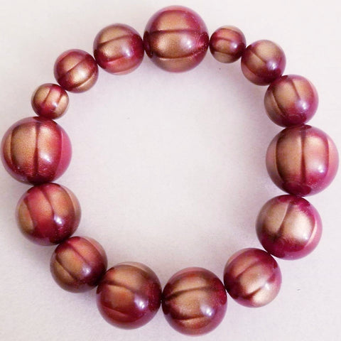 Handmade Cats Eye Stretch Bracelet
