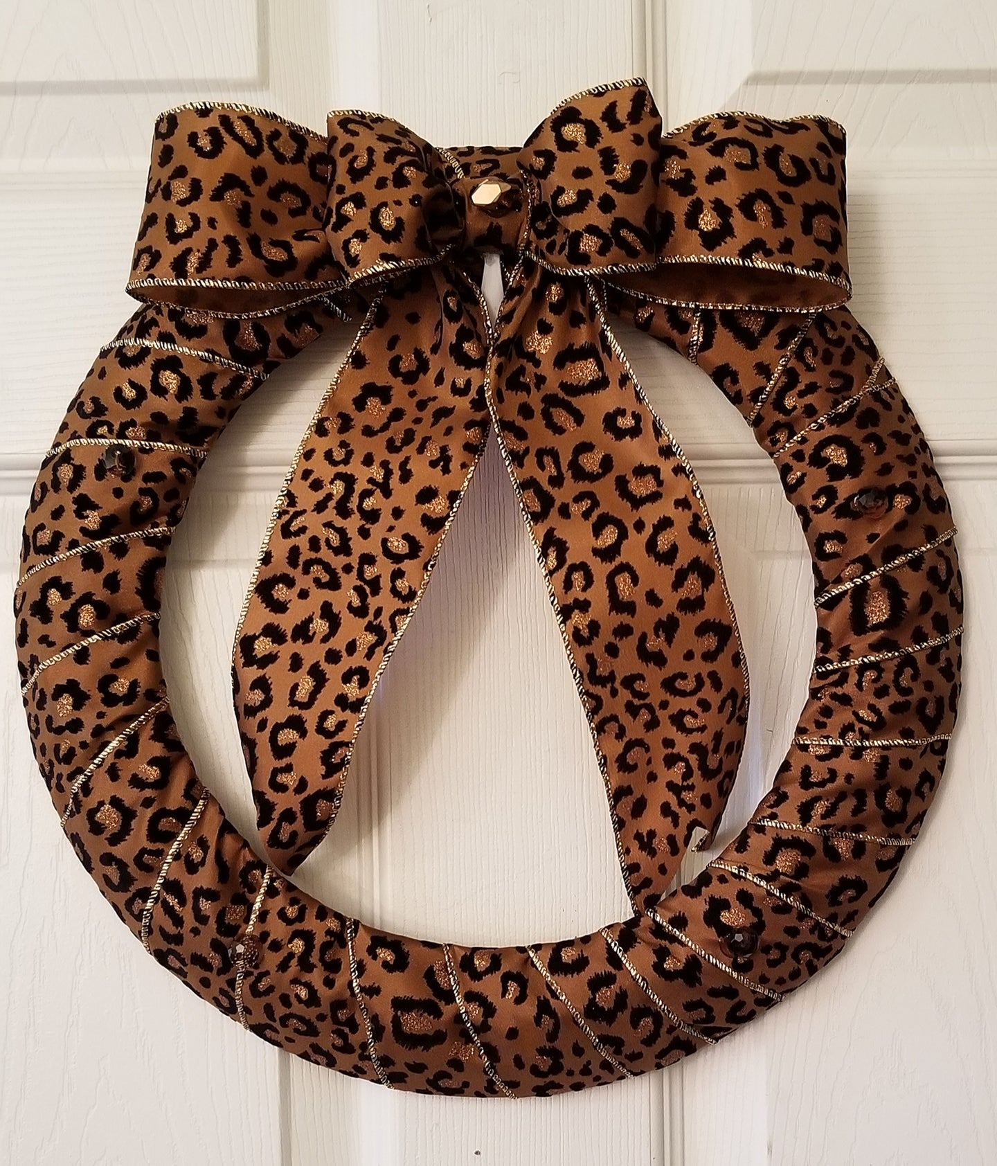 Animal Print Wreath 14